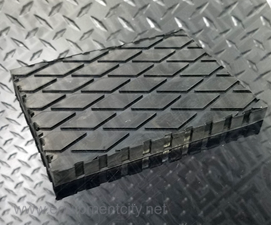 Rotary SB700071Y Flat Polymer Pad Adapters | 1 Each