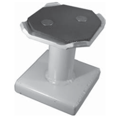"""JO12BP-6 Standard 6"""" Height Small Clip On Adapter for Manitowac"""