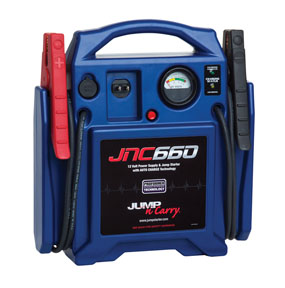 JNC660 Solar Battery Boost Jump Pack