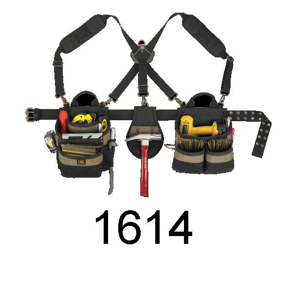 CLC 1614 23 Pocket - 5 Piece Poly Framer's Comfort Lift Combo System