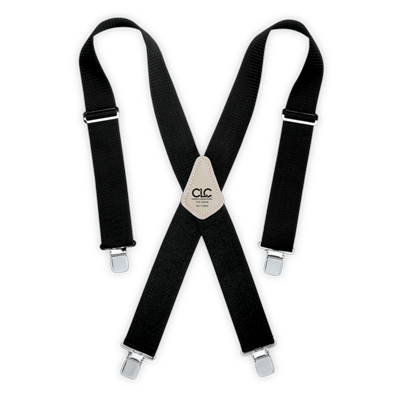 CLC 110BLK Heavy-Duty Work Suspenders - Black