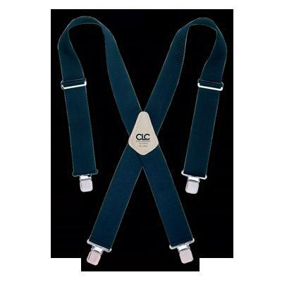 CLC 110BLU Heavy-Duty Work Suspenders - Blue