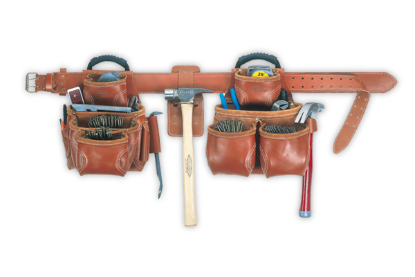 CLC 21452 19 Pocket - 4 Piece Top-Of-The-Line Pro-Framer's Combo System
