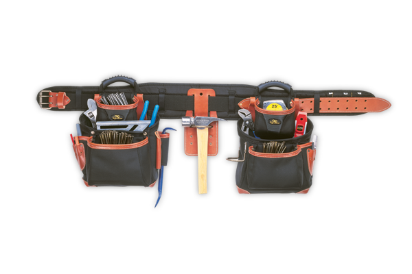 CLC 51449 25 Pocket - 4 Piece Top-Of-The-Line Pro-Framer's Combo System
