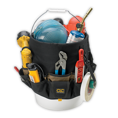 CLC 1119 48 Pocket - Bucket Organizer
