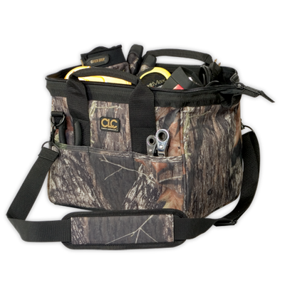 "CLC 1161M 23 Pocket - 12"" Mossy Oak® Tote Bag"