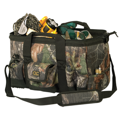 "CLC 1163M 31 Pocket - 18"" Mossy Oak® Tote Bag"