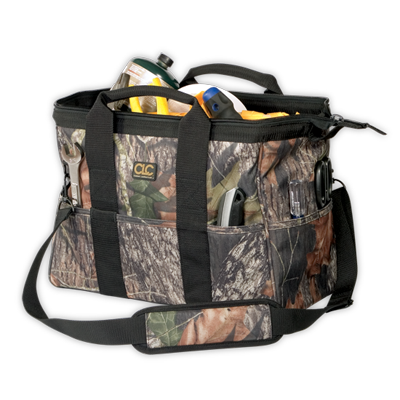"CLC 1165M 22 Pocket - 16"" Mossy Oak® Tote Bag"