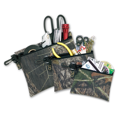 CLC 1100M Mossy Oak®, Clip-On Zippered Bags