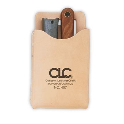 CLC 407 Top Grain Box-Shaped, All-Purpose Pouch