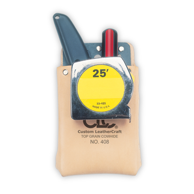 CLC 408 Top Grain Box-Shaped, All-Purpose Pouch