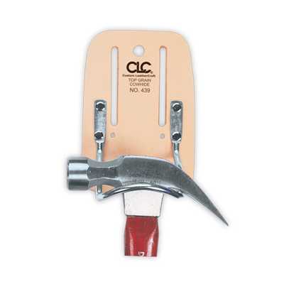 CLC 439 Top Grain Steel Loop Hammer Holder