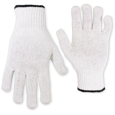 CLC 2000White String Knit Gloves