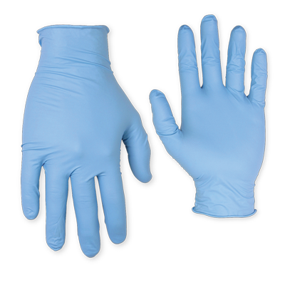 CLC 2331Nitrile Disposable Powdered (10 ea./bag)