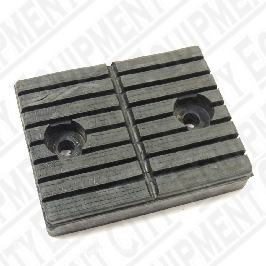 Challenger 482365 Rubber Pad, Bolt On