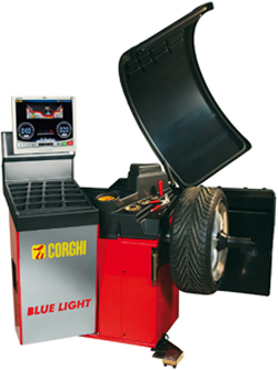 Blue Light Passenger Tire Balancer 110V Standard