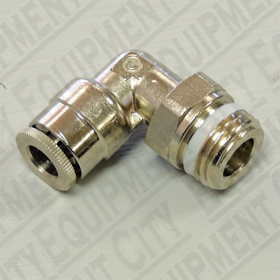 Corghi 3-00051 1/4 Male Swivel Elbow to 6mm Female Tubing Replaces 900441651