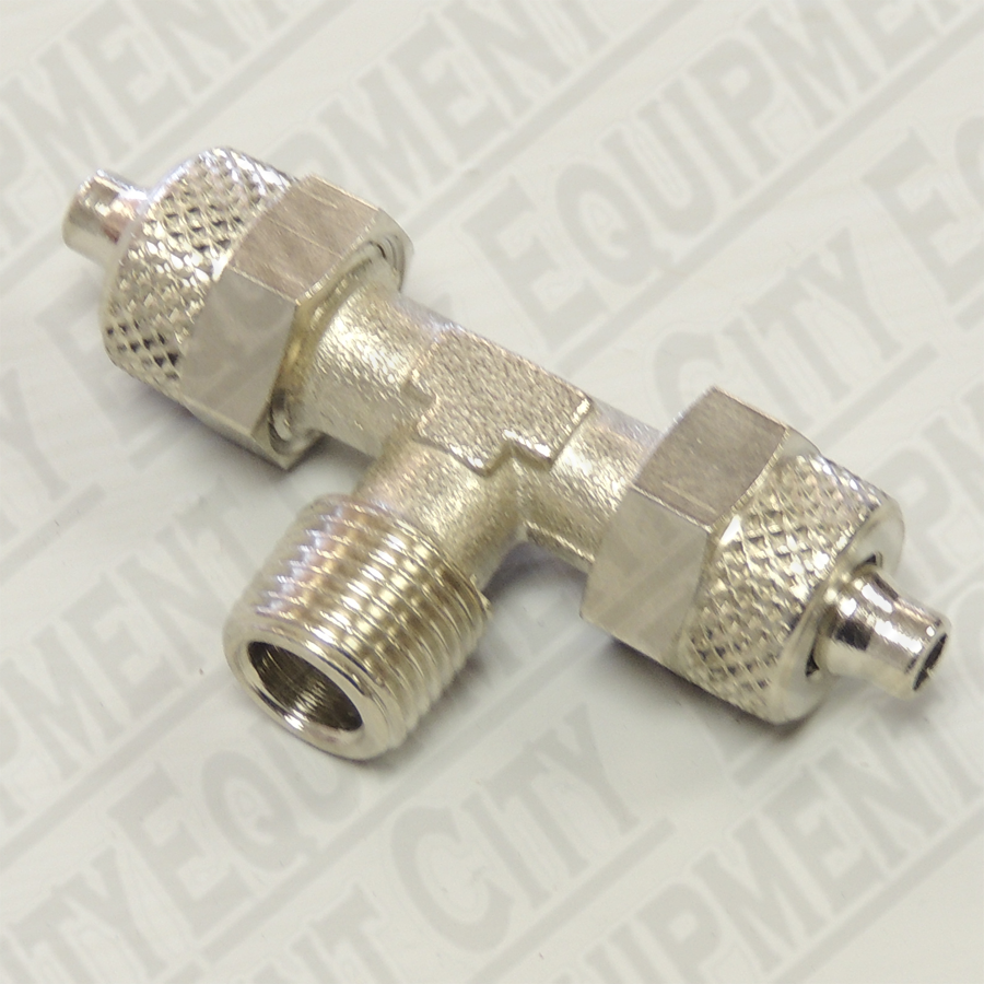 Corghi 3-00001 1/4 Male T-Fitting to 6mm Female Tubing Replaces 900433873