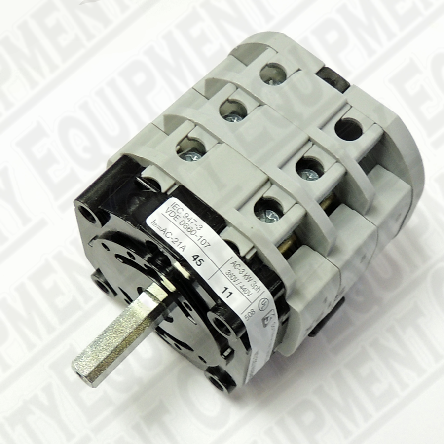 5-102742  Corghi ***3-PHASE ***REVERSER SWITCH AC MOTOR Replaces 900421523, 900435363 and 5-102741 - Works with Hunter RP11-5-400682