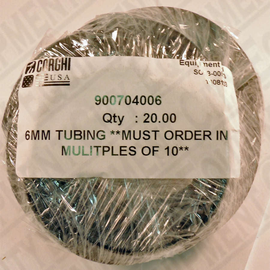 900704006 Corghi 6MM TUBING | 10 Feet