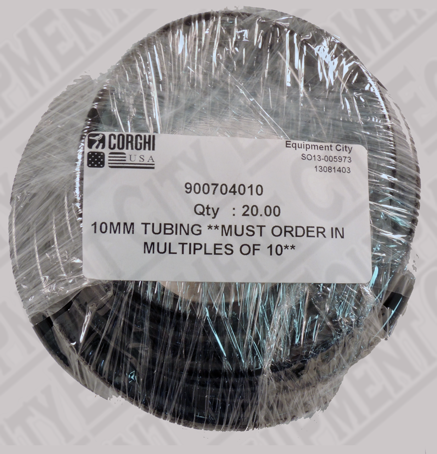 900704010 Corghi 10MM TUBING | MUST PURCHASE IN MULTIPLES OF 10