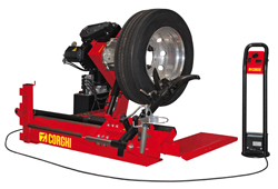 Corghi HD700 Truck Tire Changer 208V 3 Phase