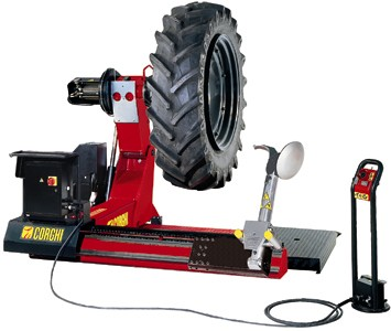 Corghi HD1200ECL Truck Tire Changer 208V 3 Phase