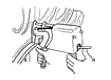 0-12100701 Corghi DV 120 Bead Pressing Arm