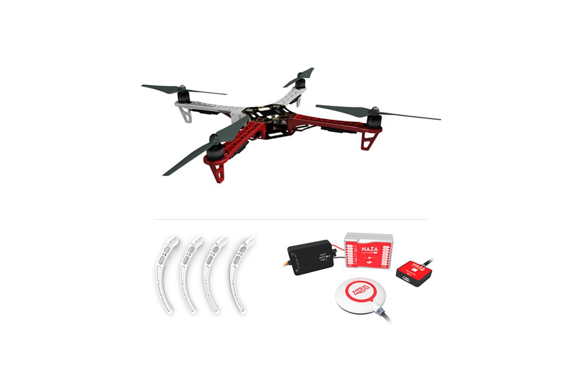 DJI Naza-M Lite&GPS Combo+F450 ARF Kit+Landing Skid