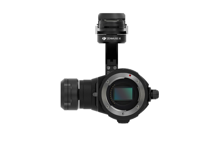 DJI ZENMUSE X5Part 1 Gimbal and Camera (Lens Excluded)
