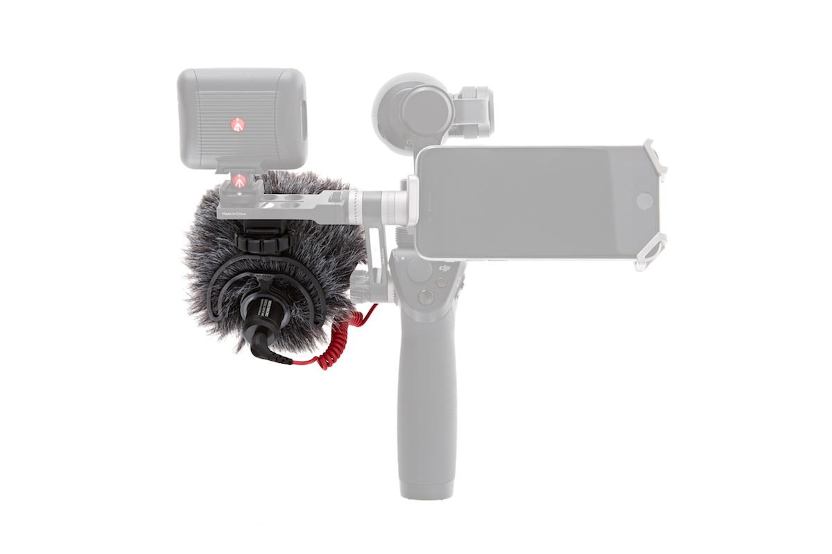DJI RODE VideoMicro On-Camera Hypercardioid Microphone