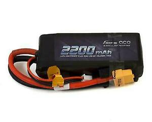 GensAce 50C 2S1P 7.4v 2200mah Lipo Battery Pack with XT60 Plug