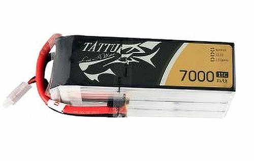 Tattu 7000mAh 6S1P 15C 22.2V Lipo Battery Pack | TA-15C-7000-6S1P