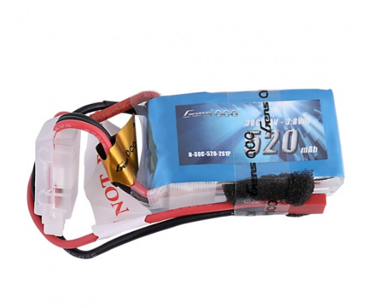 GensAce 520mah 30C 3S1P Lipo Battery w/ JST-SYP Plug