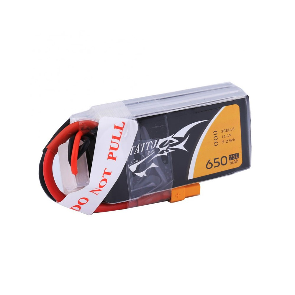 Ovonic 650mah 3S 11.1V 80C Lipo Battery Pack with XT30 Plug