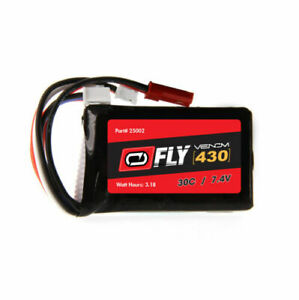 Fly 7.4V 430mAh 30C 2S LiPo, JST, PH
