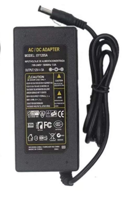12V 5A 60W AC DC Power Supply
