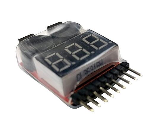 Apex 6s Lipo Battery Voltage Checker 1-8 Cell