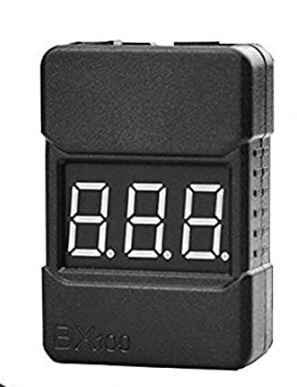 LiPo Battery Checker - RC 1-8S Battery Tester Monitor