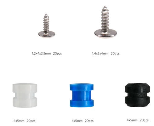 BetaFPV Screws and Rubber Dampers