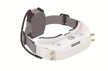 Eachine EV300D 1280*960 5.8G 72CH Dual True Diversity HDMI FPV Goggles Built-in DVR Focal Length Adjustable With Chargeable Battery Case - White