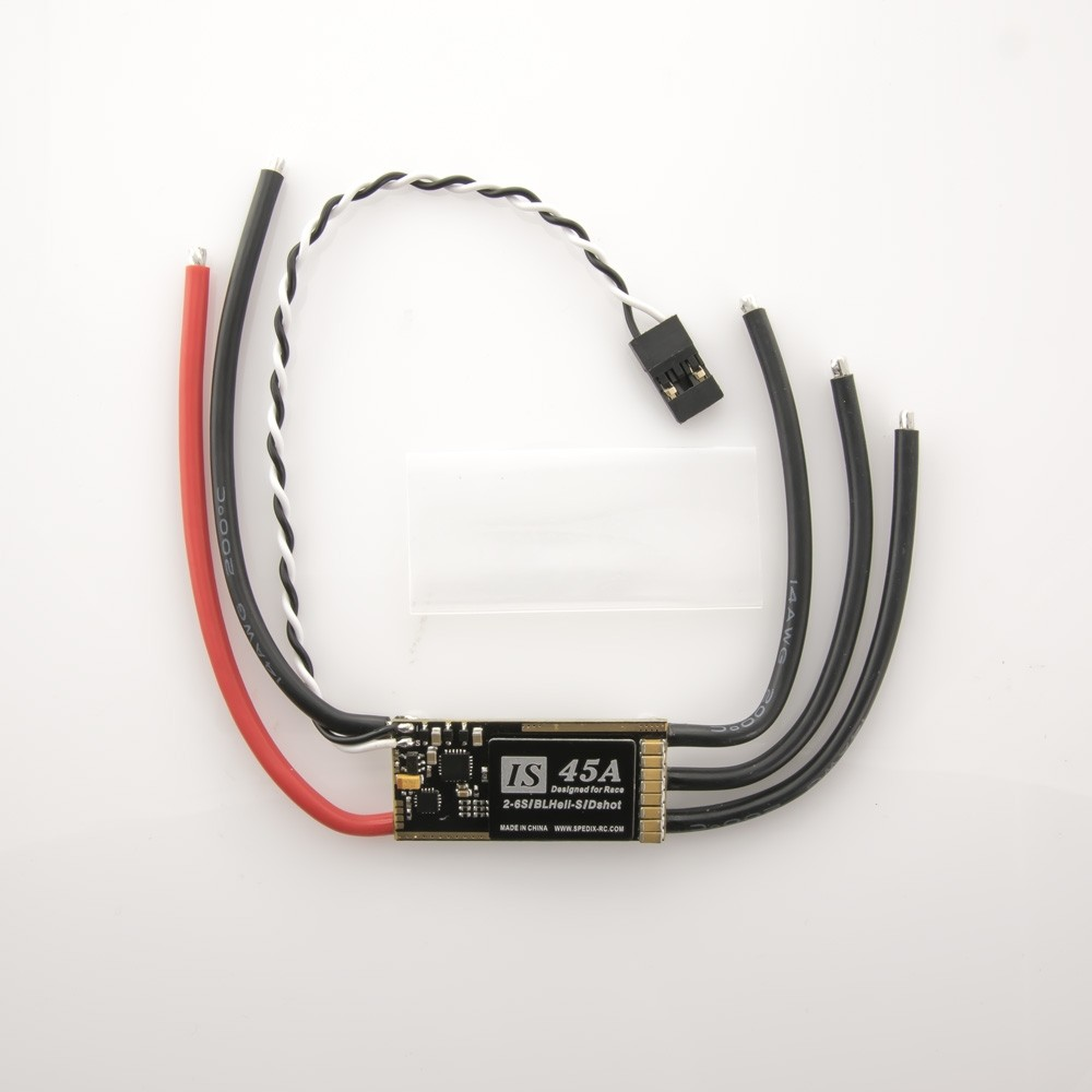 Spedix IS45 2-6S LiPo DShot BLHeli_S 45A ESC