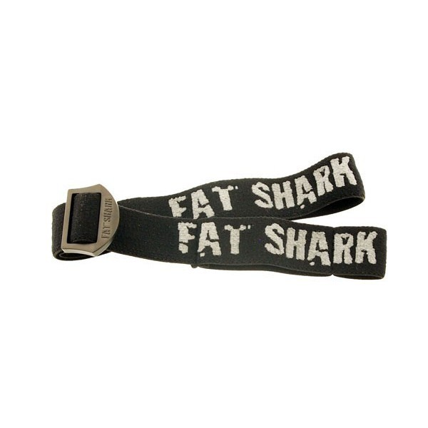 Fat Shark Replacement Head Strap For Goggles Black