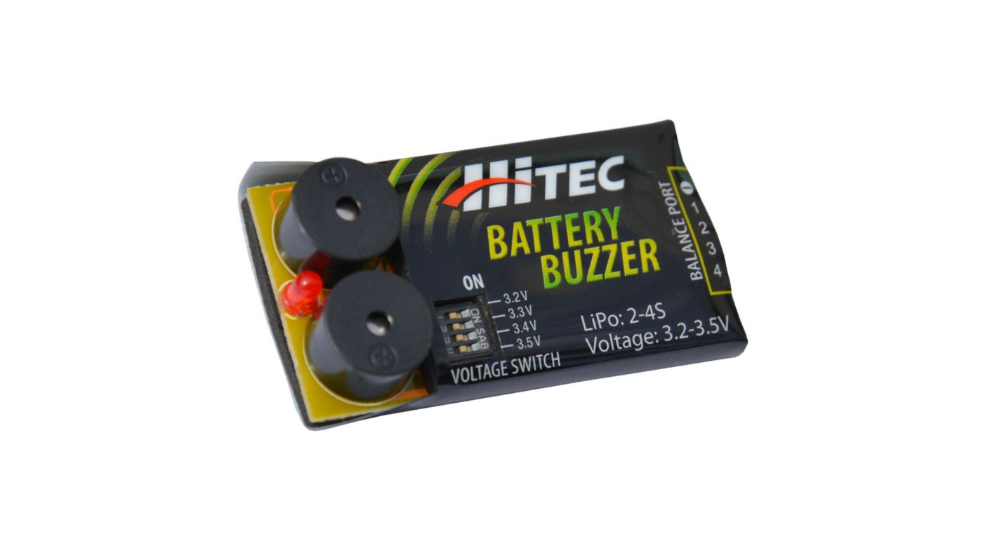 HiTec Battery Buzzer (HRC44210)