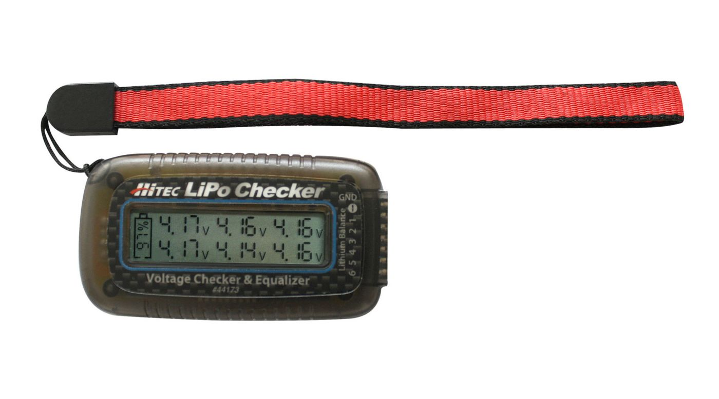 HiTec Lipo Checker | Voltage Checker & Equalizer Item HRC44173