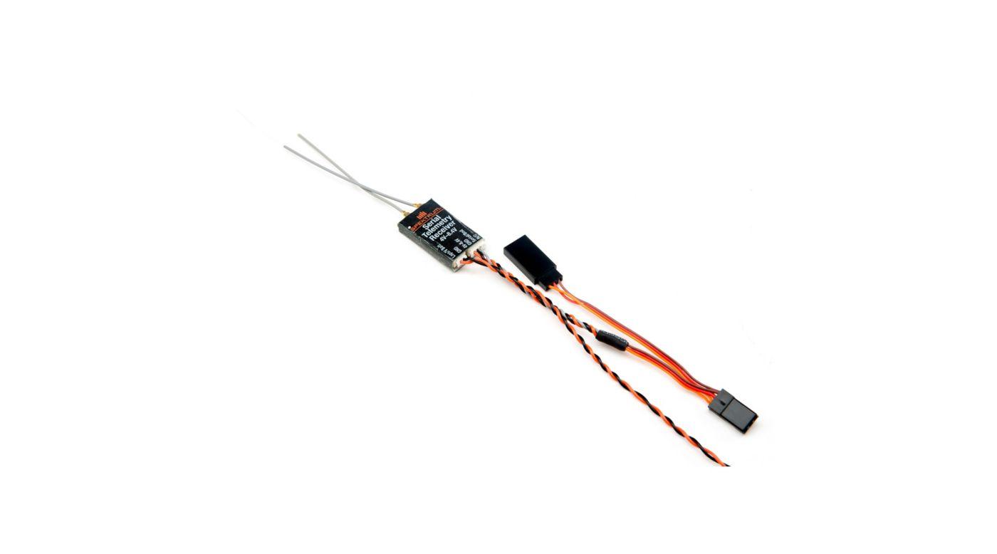 Torrent 110 FPV Spektrum Quad Race Serial Receiver w/telemetry : SPM4649T