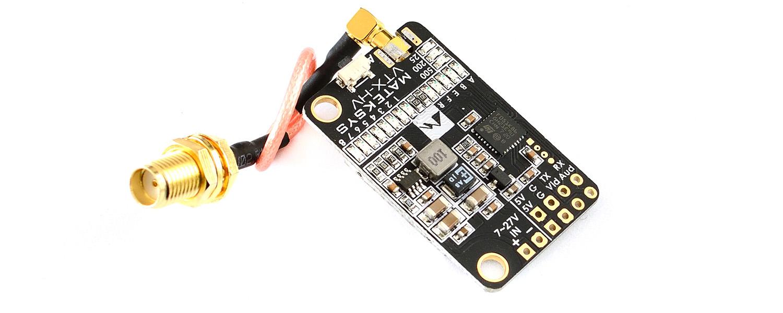 MATEK 5.8G VTX-HV W/ BFCMS CONTROL MMCX Connector