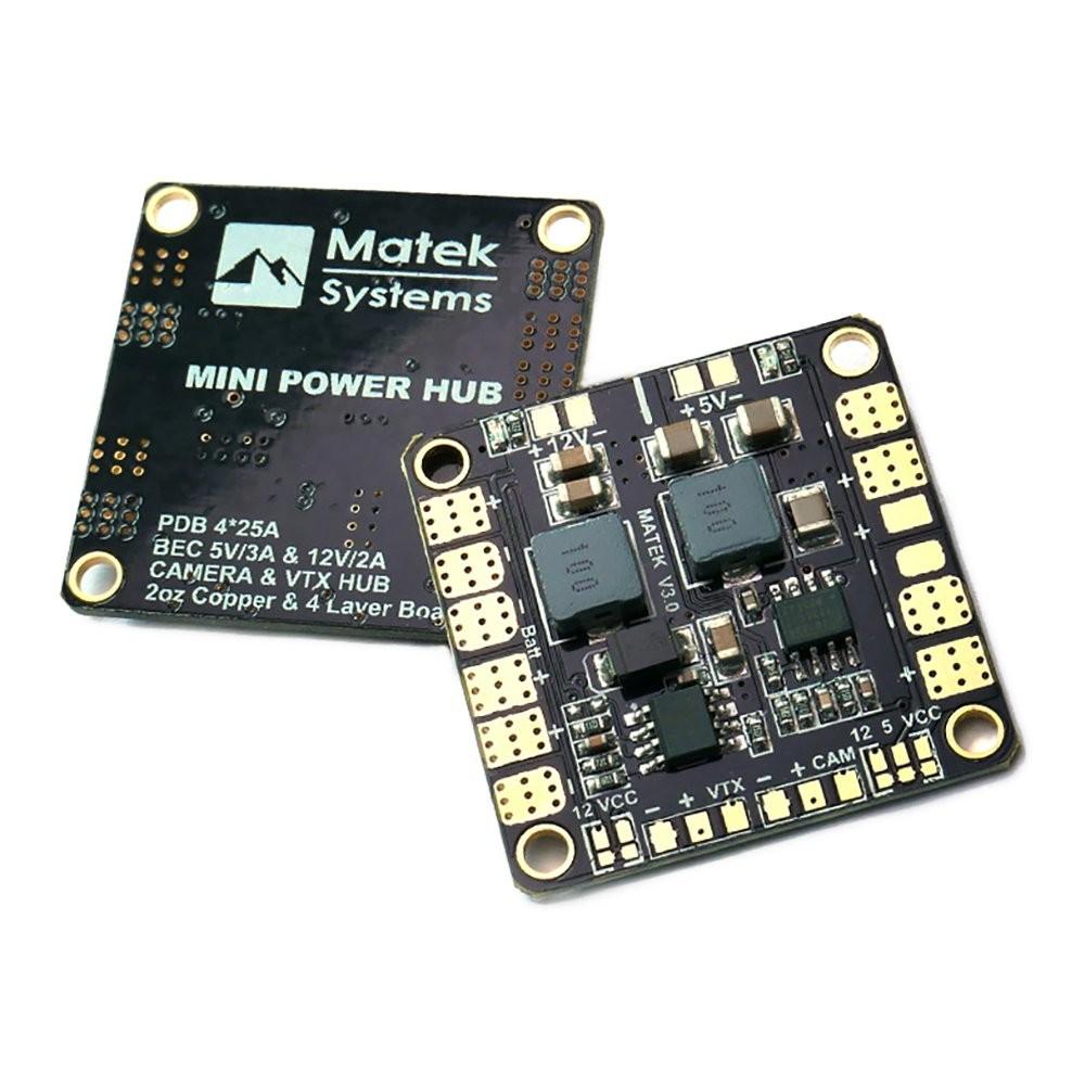 Matek Mini Power HUB with BEC 5V & 12V