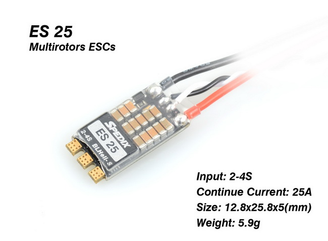Spedix ES 25A 2-4S BLHeli_S ESC 3536
