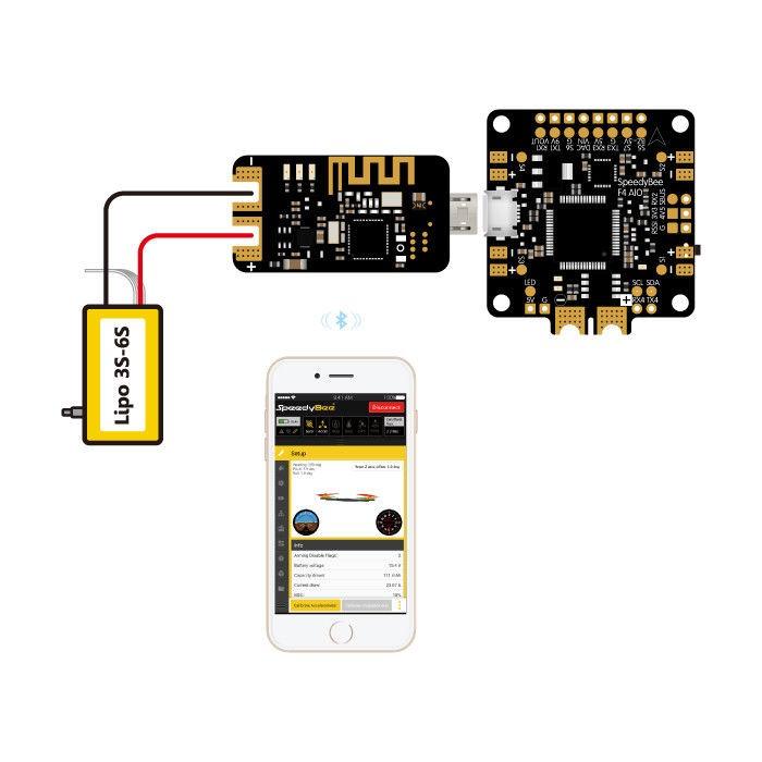 SpeedyBee Bluetooth USB Adapter